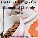 dietary changes for managing chronic pain