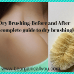dry brushing-before and after